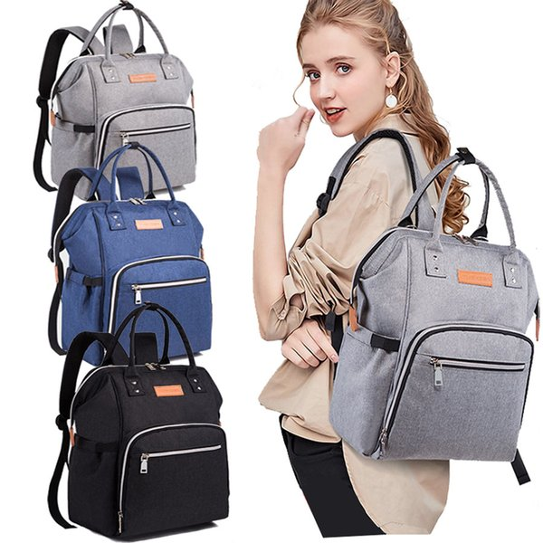 Mode-Wickeltasche für Baby Sachen Wickeltasche für Mama Reise Rucksack Bolsa Maternidade Kinderwagen Pflege Baby Care