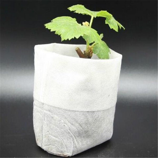 fabric cotton Nursery Pots Seedling-Raising Bags non-woven fabrics Garden Supplies Environmental Protection Full All Size 200pcs-pack jt021