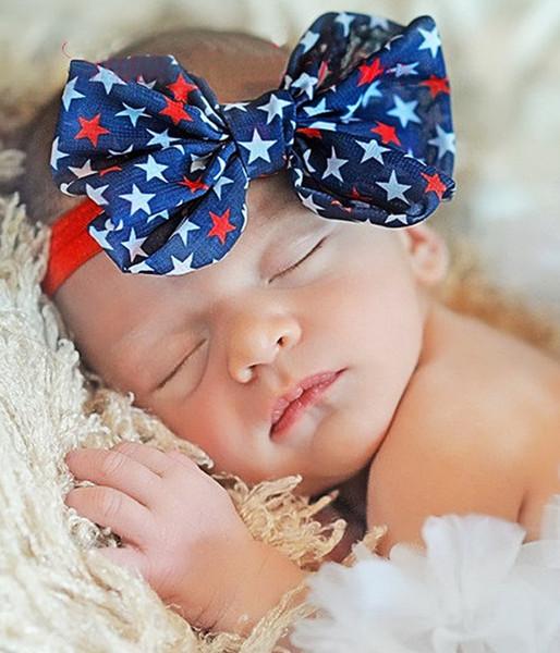 5pcs Headbands Baby Girls Flower Headbands Chiffon beautiful Flower Elastic For Baby Hair Accessories Headwear H146
