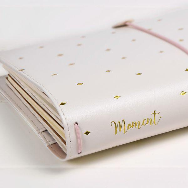 Lovely Diary Gift to Girlfrend, TN Diario Diario Travler Cuaderno, Espiral PU Tamaño Grueso Planificador Diario