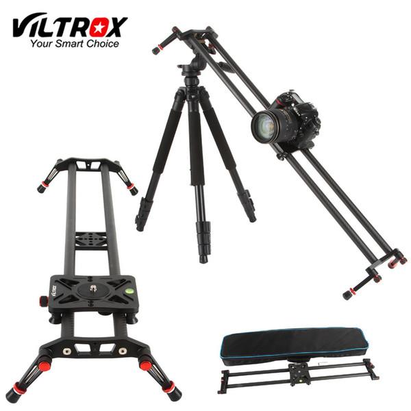 Viltrox VC-80 80cm Kohlefaser 6 Lager DSLR Kamera DV Slider Track Video Stabilisator Rail Dolly für Video DSLR Camcorder