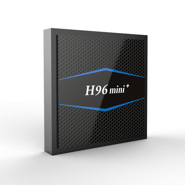 Intelligenter androider Fernsehkasten H96 Mini + Android 7.1 S905W Viererkabel-Kern 2G / 16G 4K Multimedia-Spieler Suppot H.265 Set-Top BOX