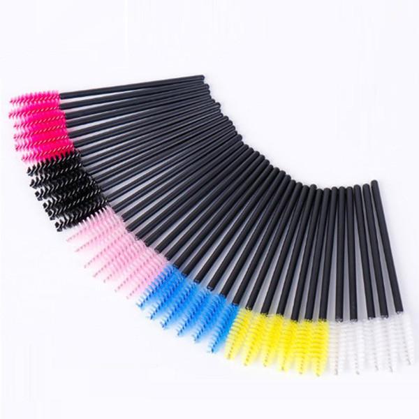 2000 pz all'ingrosso monouso pennello ciglia mascara bacchette applicatore ciglio pettine spazzole per il trucco individuale smagliatura rimozione tampone micro