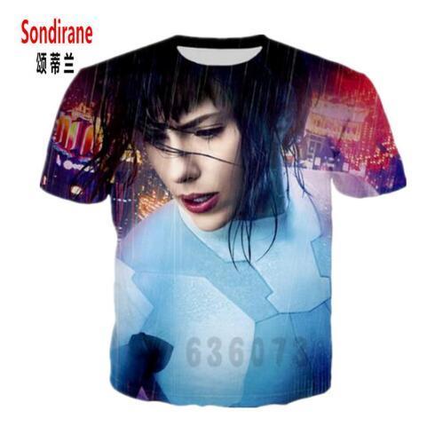 New Fashion Womens/Men Scarlett Johansson Funny 3D Print Casual T-Shirt Summer Short Sleeve Tee Shirt Tops Clothing