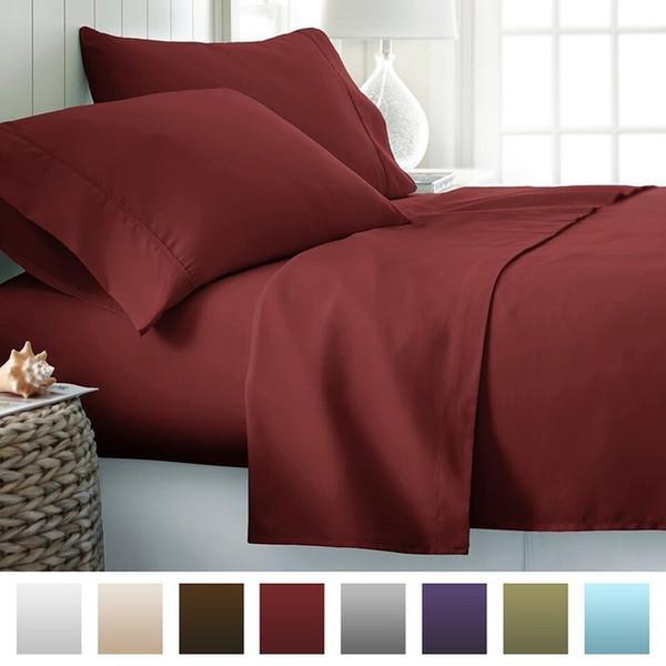12 Colors Egyptian Twin~King Size Bedding Sets Juegos De Sábanas De Algodón Bed Sheets Queen Bedding Sets King Size Comforter Set