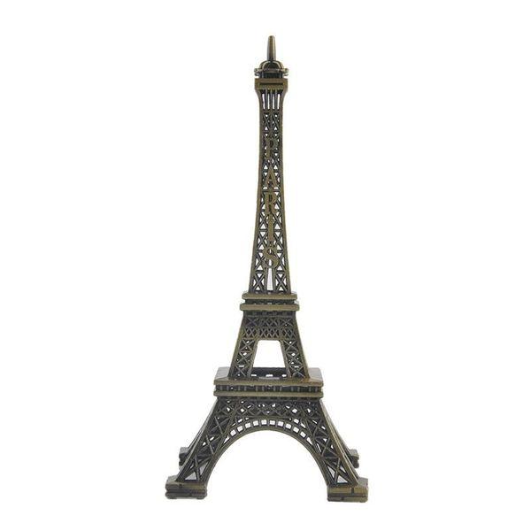 Home Desk Dekoration 8/15 cm Paris Eiffelturm Figur Statue Vintage Modell Kunst Handwerk Kreative Geschenke Souvenir Bronze Paris Eiffelturm
