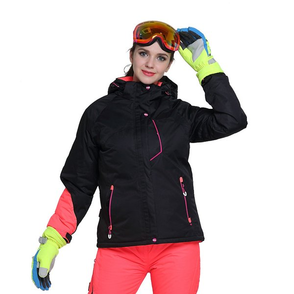 Adults Women Snow Jackets Women Ski Jacket Outdoor Winter Ski Clothing  Womens Waterproof Windproof Snowboard Coat S M L XL 8c93f185c