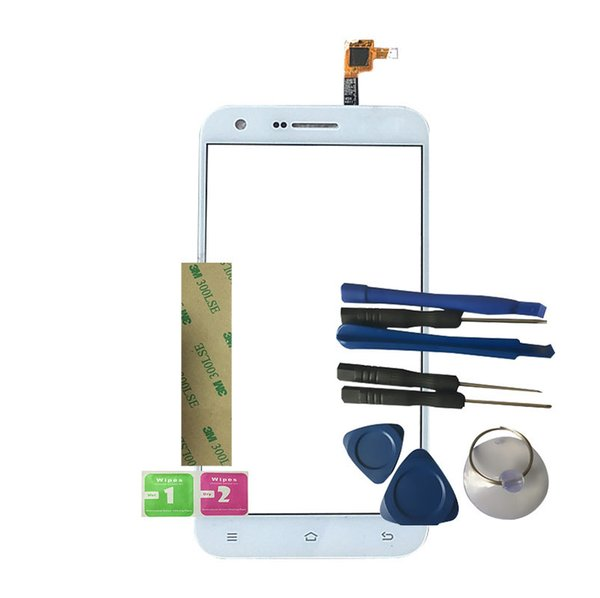 RYKKZ For ArGom Tech Mobile Phone Touch Screen No LCD Display Digitizer Assembly Replacement With Tools+3M Sticker