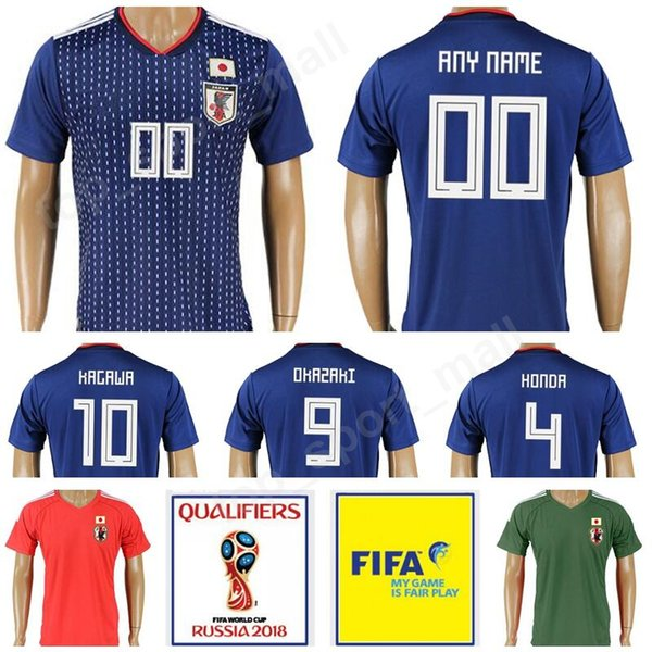 a5e25da7 Japan 2018 World Cup 10 Shinji Kagaw Jersey Men Make Customized Thai 4  Keisuke Honda 9
