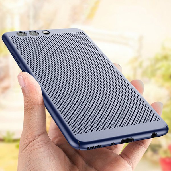Mesh Heat Dissipation Case Matte Slim Porous Hard Back Net Grid Cover For Huawei P30 Pro 20 Lite Mate 20 X Nova 4 Y7 Y9 Honor 10 Play 8X V10