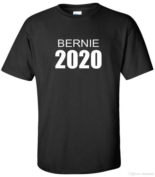 Bernie 2020 T-Shirt Anti Trump Bernie Sanders Democrat Progressive Shirt T-Shirt Men Printing Custom Short Sleeve Big Size TV Show Tshirt