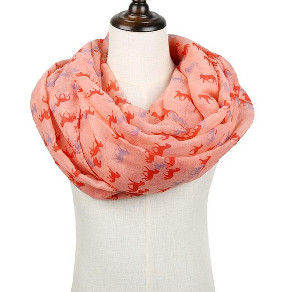 Beach Shawls Summer Women Infinity Scarves Soft Wraps Trendy Butterfly Pattern
