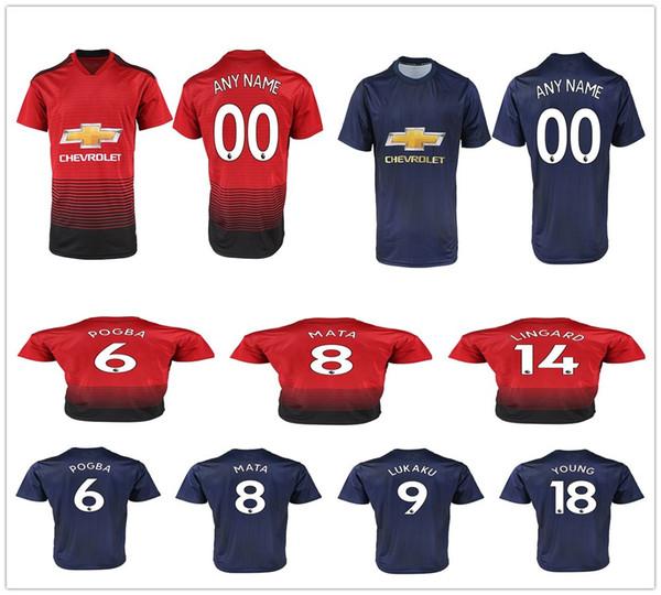 96f7a3ef 18 19 FC Manchester United 6 POGBA 9 LUKAKU 11 MARTIAL 14 LINGARD 10  RASHFORD 8