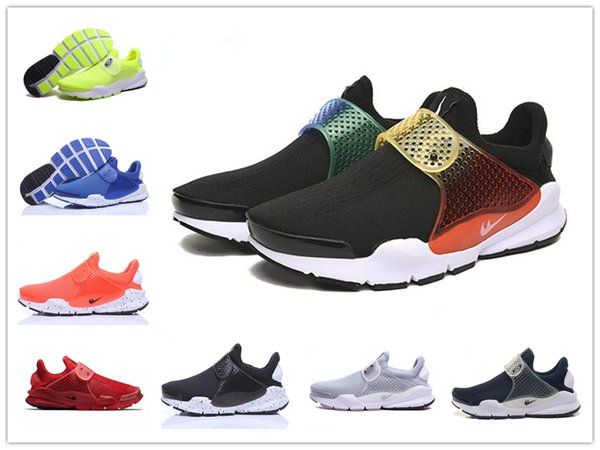2018 Hot Presto Fragment X Sock Dart SP Outdoor Running Shoes High Quality Women and Mens Sports Sneakers Boots Size 36-45