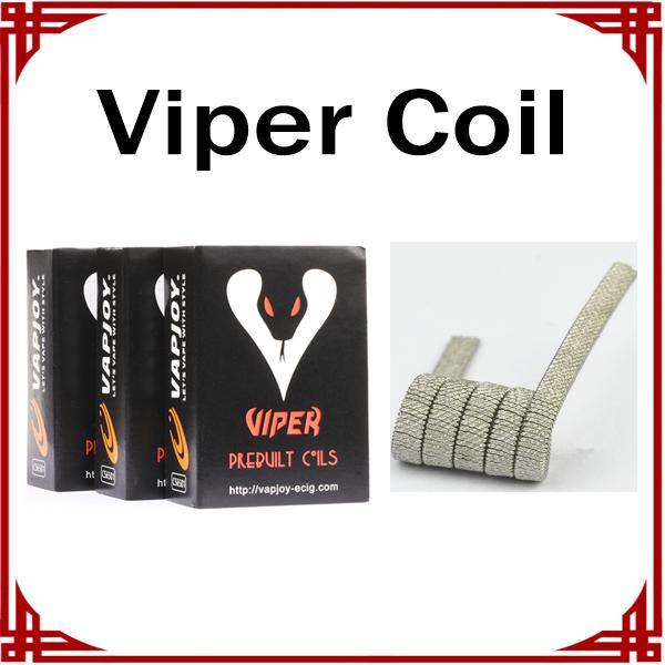 100% Original Vapjoy Viper Bobina Ni80 0.32ohm Viper Prebuilt Bobinas E Cigarros Acessórios DIY Bobina Para RDA RDTA
