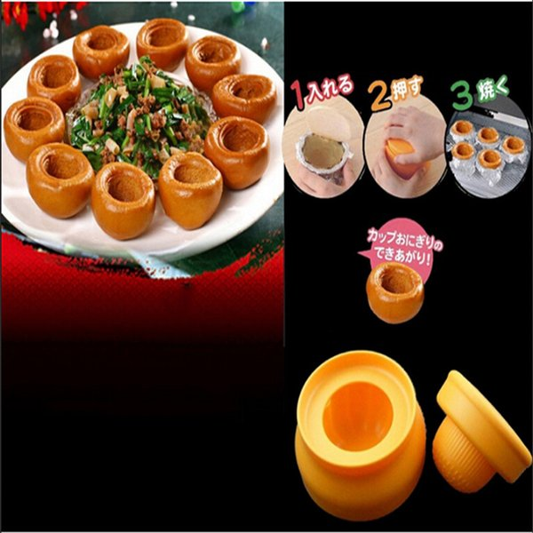 Japanischen Stil Kreative Reis Tasse Form Gebacken DIY Reis Ball Form Für Gedämpfte Maisbrot Ball Mold Küche Werkzeuge QB893167