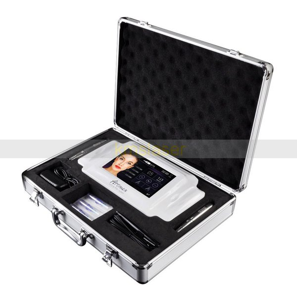Lippenmikropigmentierungs-Tätowierungs-Maschine mit 2 PC-intelligentem Stift-Edelstahl-Material