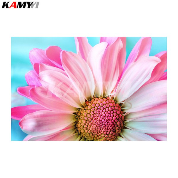 NEW DIY Diamond Painting Pink Lemonade Blossom Needlework Home Decorative Full Square Diamond Embroidery NMX