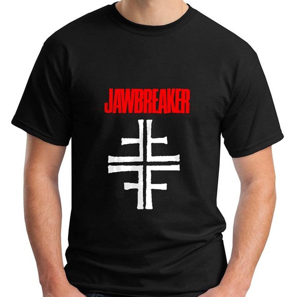 New Jawbreaker American Punk Rock Band Music Logo Nero T-shirt da uomo taglia S-5XL