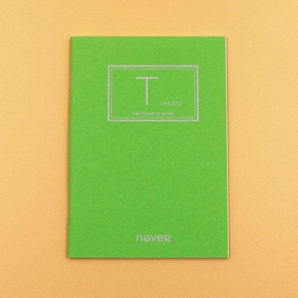 Tuesday Green 95x138mm