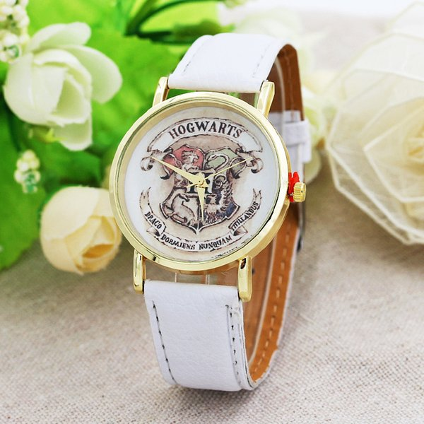 Cinturón dama reloj insignia de la escuela mágica Relojes de pulsera