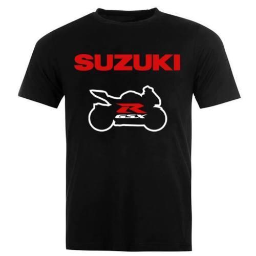 Suzuki GSXR Racing Motosport Homem Mulher Moto T-shirt