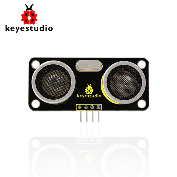1PCS Keyestudio SR01 Ultrasonic Sensor Module Distance Measuring Transducer Sensor for Arduino Smart car/Robot car