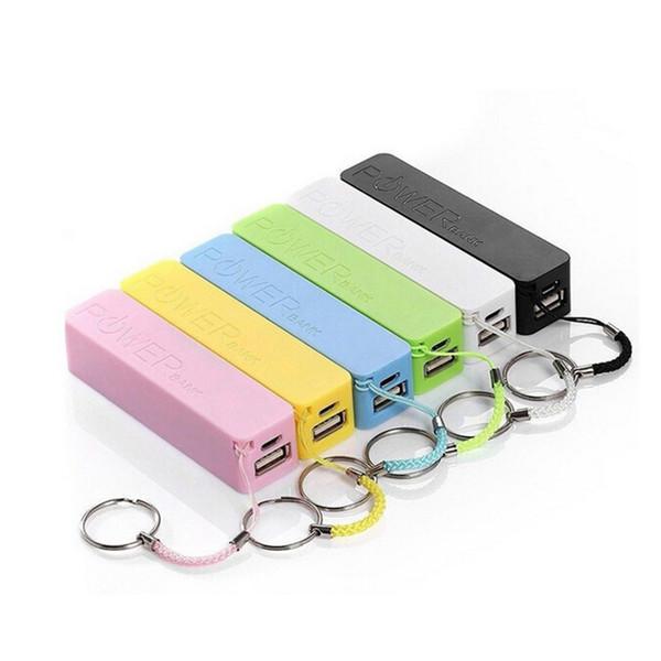 Chargeur mobile power bank Mini USB Chargeur Portable batterie de secours pour iPhone X 8 Plus HTC S5 Plus