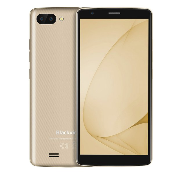 """BLACKVIEW A20 Android GO smartphone Dual Rear Camera Quad core 5.5""""18:9 Cell phone GPS 3G Low price mobile phone"""