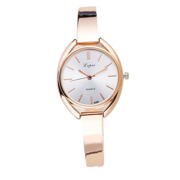 2018 LVPAI Brand Luxury Women Bracelet Watch Cina Alloy Quartz WristWatches Ladies Dress Watch Fashion Orologio regalo casual