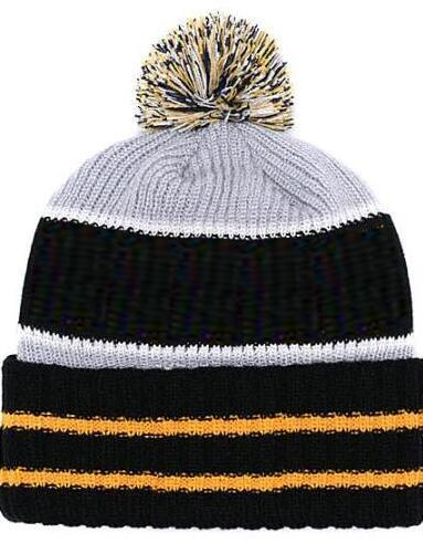 2019 Autumn Winter hat Sports Hats Custom Knitted Cap with Team Logo Sideline Cold Weather Knit hat Soft Warm Steelers Beanie Skull Cap