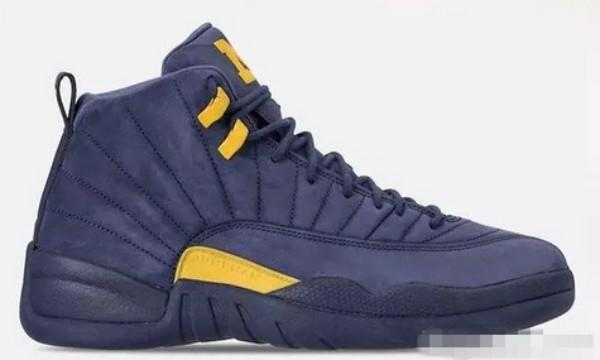 2018 New Jumpman XII 12 Michigan Blue Yellow Basketball Shoes for High quality Mens Women Pink 12s Suede PSNY Sports Sneakers Size 36-47