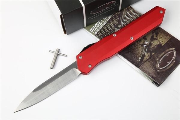 Recommend Munroe Cypher flacher roter und schwarzer Schieber Jagd-faltendes Taschen-Messer-Überlebens-Messer Weihnachtsgeschenk für Mannkopien 1pcs freeshipping