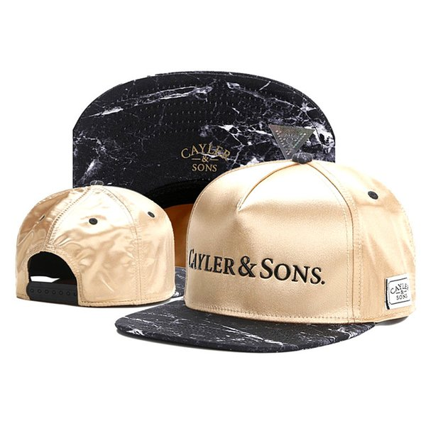 CAYLER 100% Cotton Top Quality hip hop Baseball Caps Embroidered Adjustable Snapbacks Sport Summer Hats Flat Brimmed Sun Visor Fitted Adults