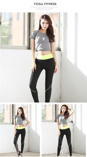Yoga Sets Female Running Leggings Wear Women Fitness Set Quick-dry Gym Clothing High Elasticity Workout Clothes 80066008