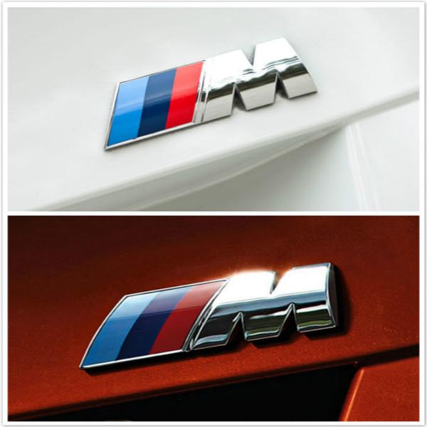 Adesivi per auto in metallo 3D Styling per auto Adesivi per auto in metallo per emblema delle prestazioni di potenza per BMW Accessori esterni