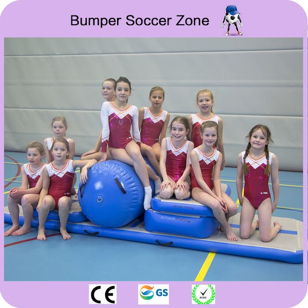 Factory Driect Sale Inflatable Tumble Track Trampoline,Air Track Gymnastics ,Inflatable Air Mat Come With a Pump