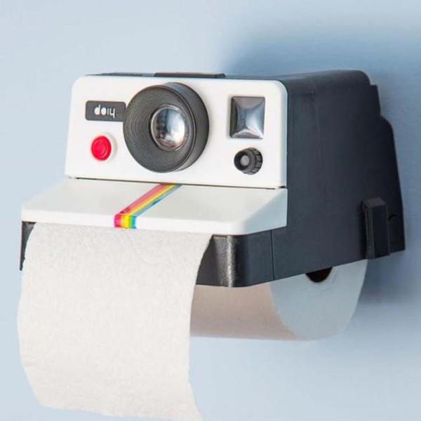 High Quality 14 x 17 x 10cm Creative Tissue Storage Retro Cute Camera Shaped Roll Tissue Holder Box Toilet Paper Cover