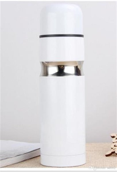 Fashion Stainless Steel Kettle Flower Color Anti Scald Water Bottles Insulation Cold Retaining Practical Vacuum Cup New 18hs ZZ