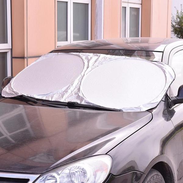 Sunshades For Cars >> Car Sun Shade Full Set For Front Window Sunshade Foldable Jumbo Visor Sun Shade Windshield Cover Rear Window Sunshades For Cars Reflective Car Sun