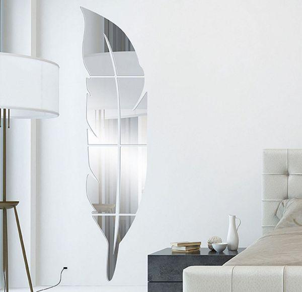 Acheter Divers Taille Durable Acrylique Miroir Sticker Mural Etanche Decoration Murale Pour Salon Chambre Style Moderne De 12 07 Du Ivsee