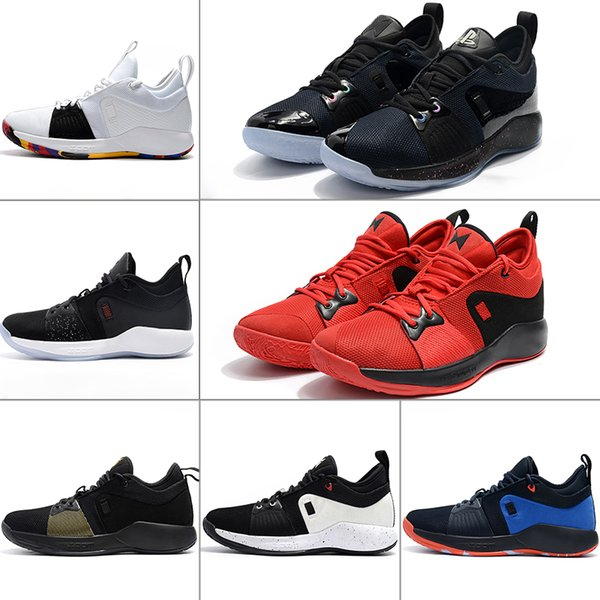 best cheap bd195 87aeb High Quality Paul George 2 PG II Basketball Shoes For Cheap Top PG2 2s  PlayStation Men Basketball Shoes Athletics Sneakers Sports Sneakers Latest  ...