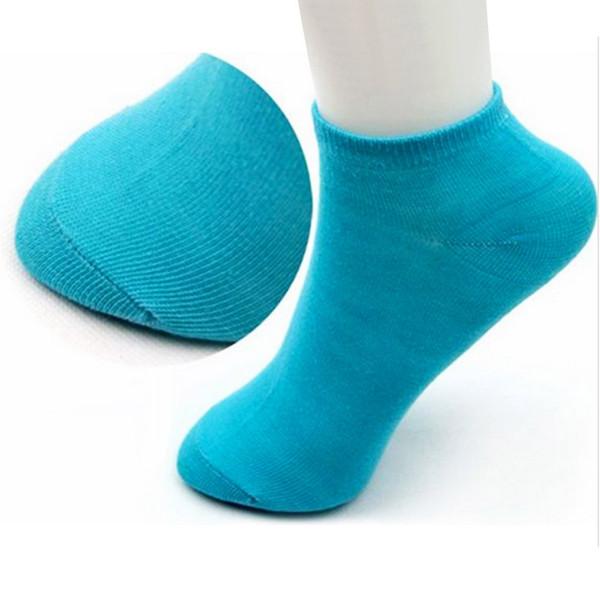 Love Women's Socks Girl Female Pink Lady Short Cotton Socks Candy Color Ankle Sox Low Cut Boat Art Socks