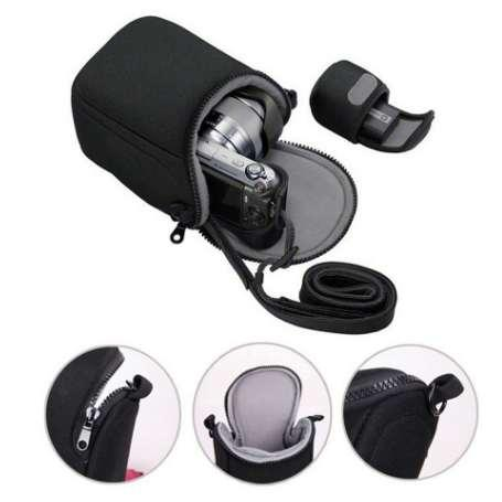 Waterproof Camera Bag For Canon EOS M100 M3 M10 M M2 M6 G7X2 SX730 Nikon J5 J4 J3 Sony A6000 A6300 A5000 A5100 NEX-5N 16-50 Lens