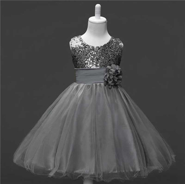 Compre 2018 Nueva Adolescente Vestido De Tulle De Verano Vestido De Princesa De La Princesa Niñas Fiesta De Noche Vestido De Prom Vestidos Niñas Niños