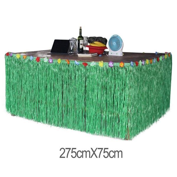 Зеленый 275x75см