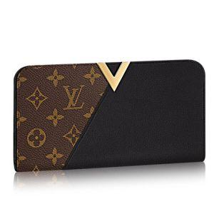 2018 European fashion letters for men and women V-wallet classic big-name color matching wallet 3 colors available for selection of pictures