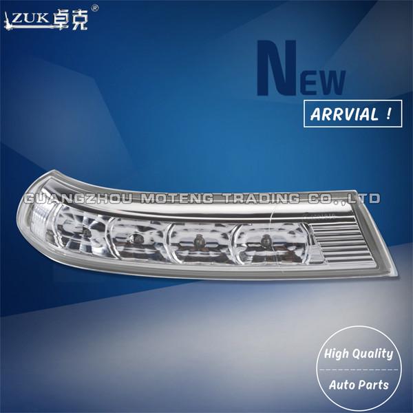 top popular ZUK Side Rearview Mirror LED Turn Signal Light Lamps Blinker Flasher For HYUNDAI Santa Fe 2010 2011 2012 Veracruz 2007 2009 2012 2019