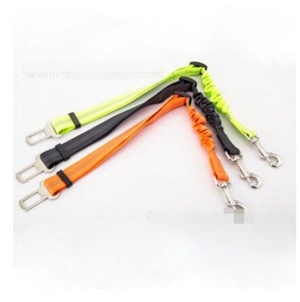 1PC wholesale car dog belt adjustable dog cat puppy Car Seat Belt Reflective Seat belt Harness Lead Pet Dog Safety leads Vehicle Seat ZI-084