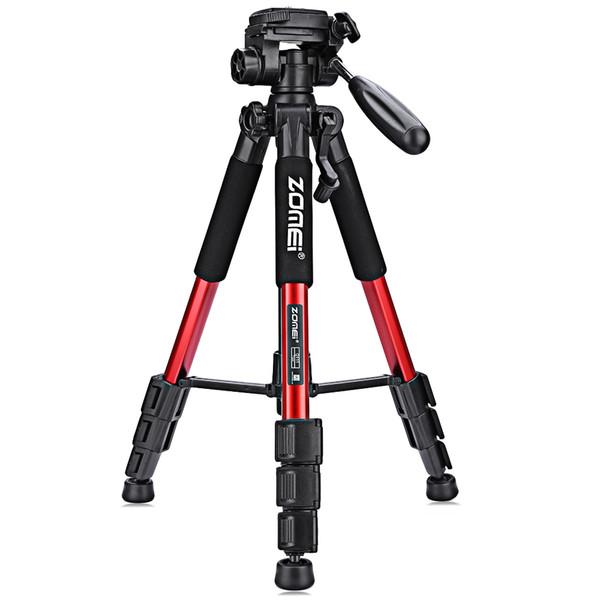 ZOMEI Q111 Tête de voyage en aluminium de voyage portable avec tête de caméra pour appareil photo reflex numérique 3 couleurs